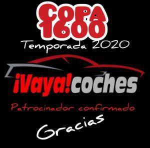 copa 1600 valla coches