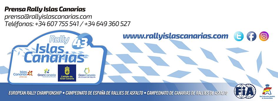 Santa Lucía, epicentro del Tuesday Test del Rally Islas Canarias