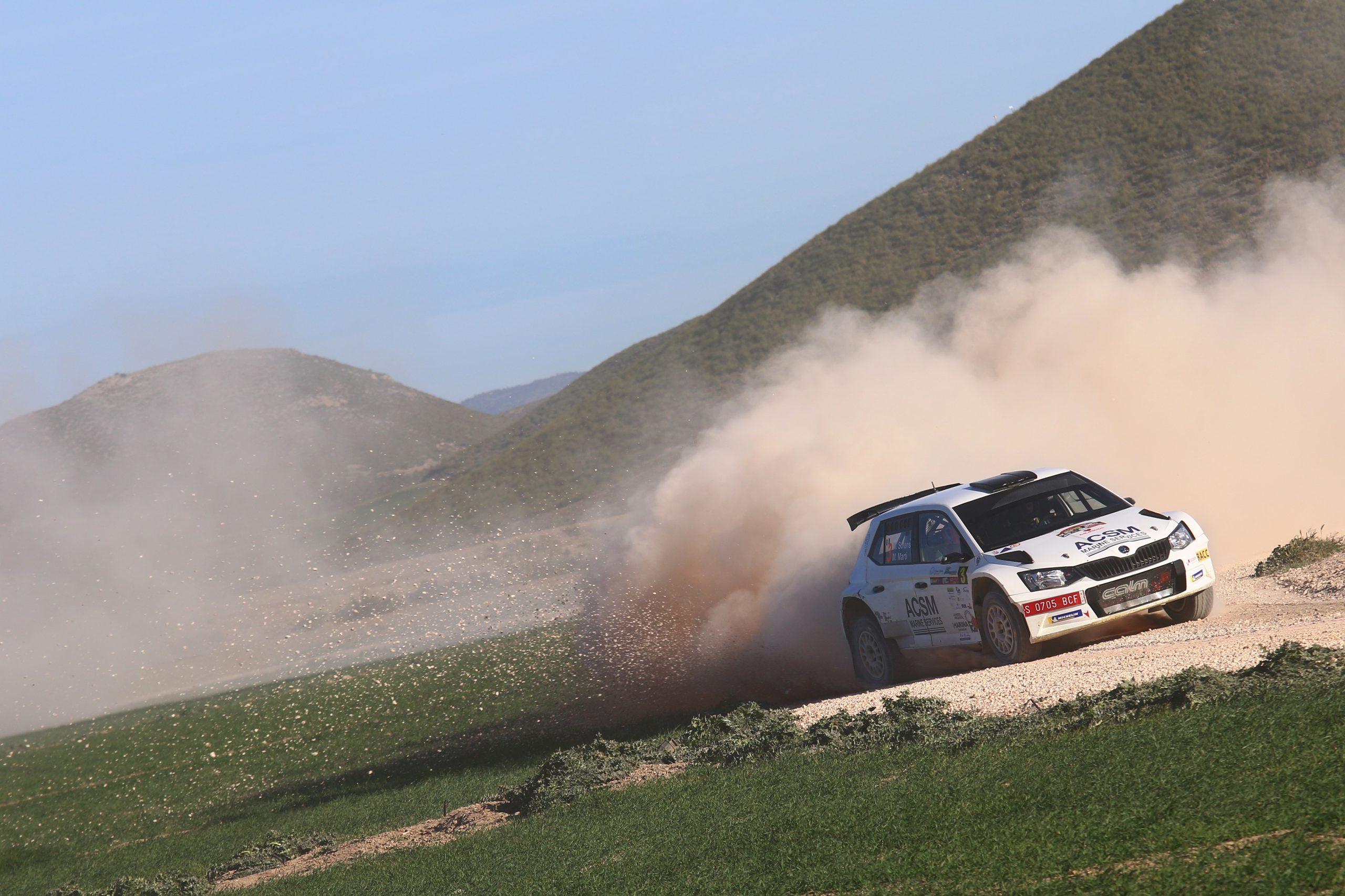 Gran triunfo de Nil Solans en el Rallye Tierras Altas