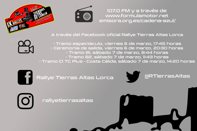 Rallye Tierras Altas de Lorca se quiere oír y ver